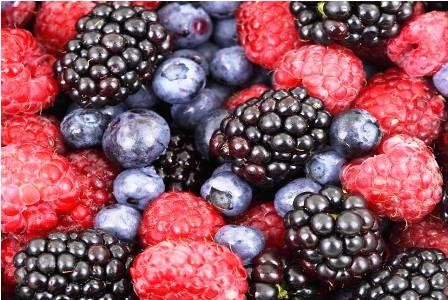 berries en Mexico