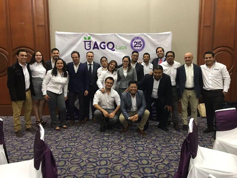 El Grupo AGQ Labs celebra su aniversario en México