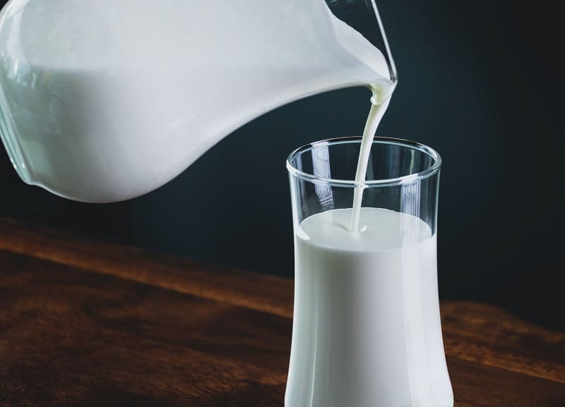 aflatoxina M1 en productos lacteos