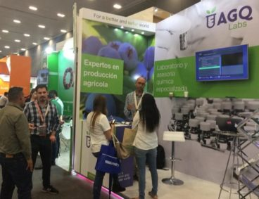 AGQ Labs en el Congreso Internacional de Aneberries