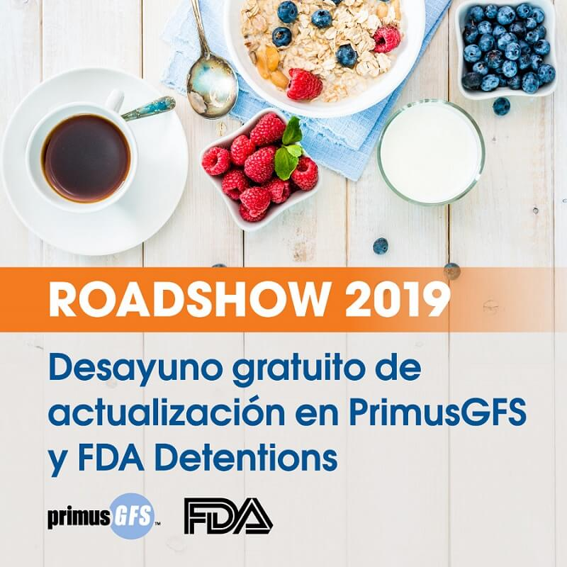 FDA detentions y PrimusGFS