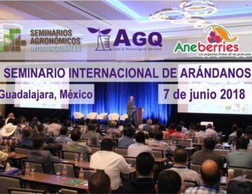Nueva edición del Seminario de Arándanos de México 2018