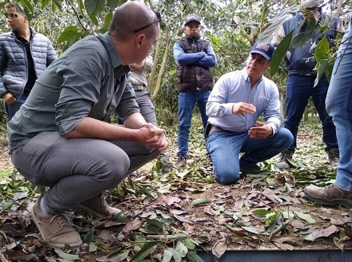 Visitas tecnicas de campo a cultivos de exportacion en Mexico