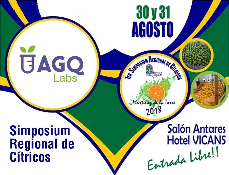 AGQ Labs en Simposium Regional de Cítricos